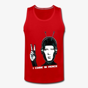 I COME IN PEACE - Männer Premium Tank Top