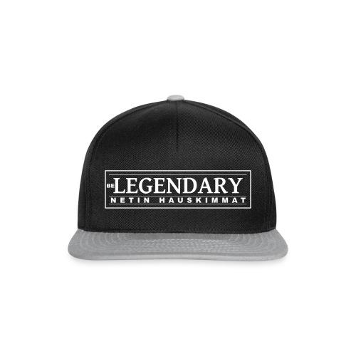 Be Legendary lippis - Snapback Cap