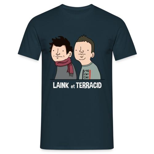 Laink et Terracid - T-shirt Homme