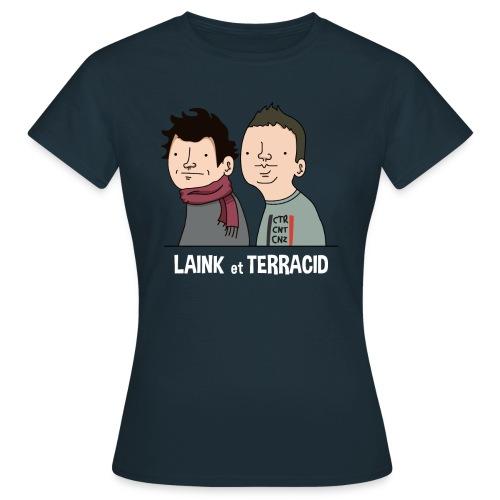Laink et Terracid - Femme - T-shirt Femme