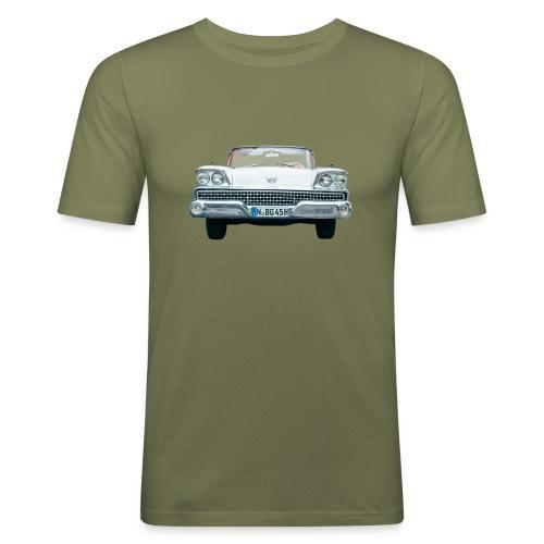 Fairlane Frontal - Männer Slim Fit T-Shirt
