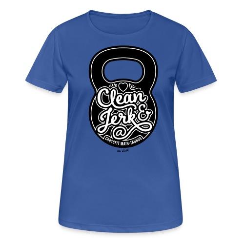 Frauen T-Shirt (atmungsaktiv) #3 - Frauen T-Shirt atmungsaktiv