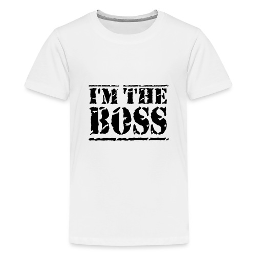 T-Shirt Boss - Teenager Premium T-Shirt