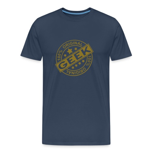 Mens Authentic geek t shirt. - Men's Premium T-Shirt