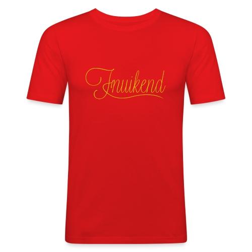 Fnuikend mannen slimfit - slim fit T-shirt