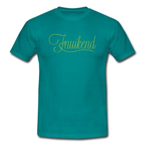 Fnuikend mannen t-shirt - Mannen T-shirt