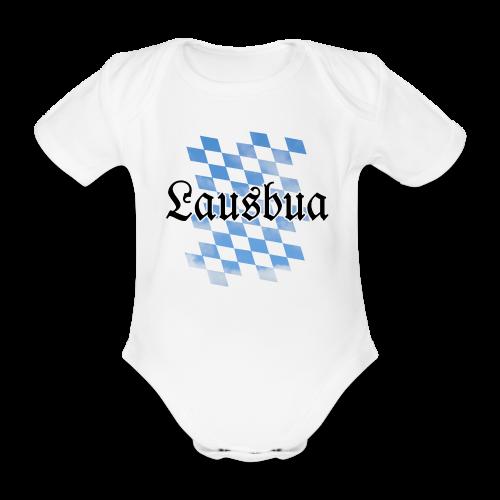 Lausbua Babybody - Baby Bio-Kurzarm-Body
