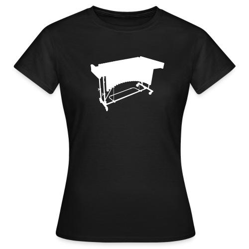 Vibraphon Kontur Shirt (Damen) - Frauen T-Shirt