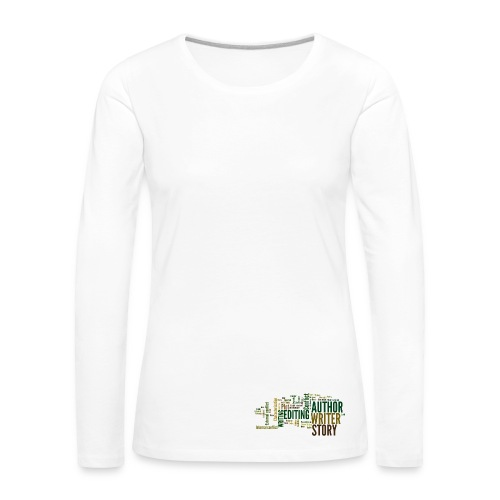 Author/Writer long sleeved shirt - Women's Premium Longsleeve Shirt