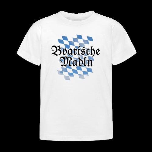 Boarische Madln T-Shirt (Kinder) - Kinder T-Shirt
