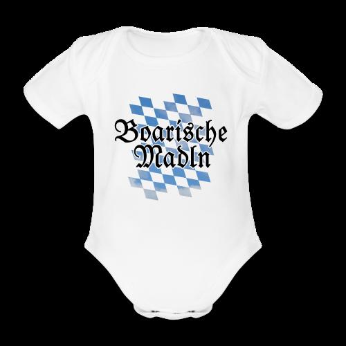 Boarische Madln Babybody - Baby Bio-Kurzarm-Body