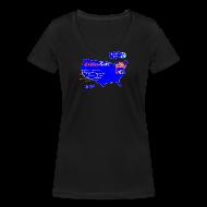 T-paidat ~ Naisten V-kaula-aukkoinen t-paita ~ Golden Gate short for girls