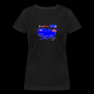 T-paidat ~ Naisten V-kaula-aukkoinen t-paita ~ Easy Rider short for girls
