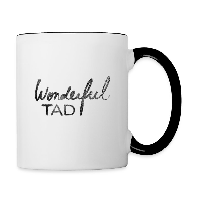 Tasse mug bicolore Wonderful Tad - Tasse bicolore