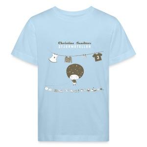 STJERNETELLER-DINOMAUR - Økologisk T-skjorte for barn