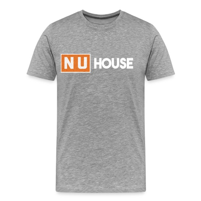 NU House Unisex T-Shirt | Light Grey