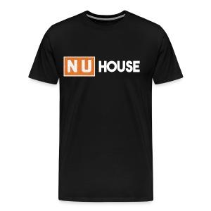 NU House Unisex T-Shirt | Black - Men's Premium T-Shirt