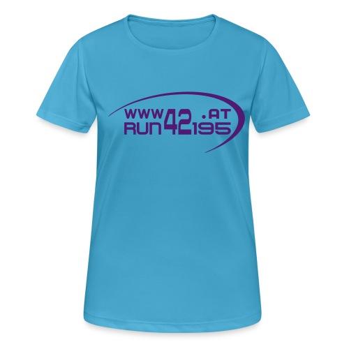 Damen Funktionsshirt neu - Logo front rosa/pink was weiß ich :) - Frauen T-Shirt atmungsaktiv