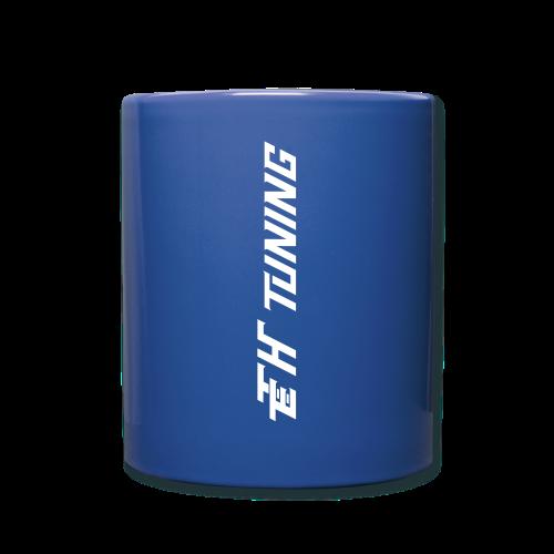 Kaffeetasse Blau Logo - Tasse einfarbig