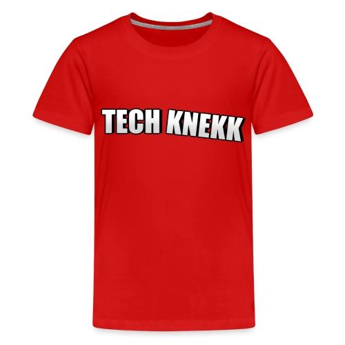 T-shorte for ungdom - Premium T-skjorte for tenåringer