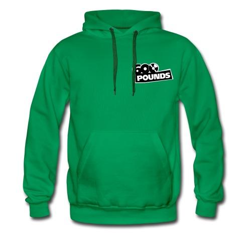 Kapuzenpulli mit kleinem S/W-Logo vorne und großem hinten - Männer Premium Hoodie
