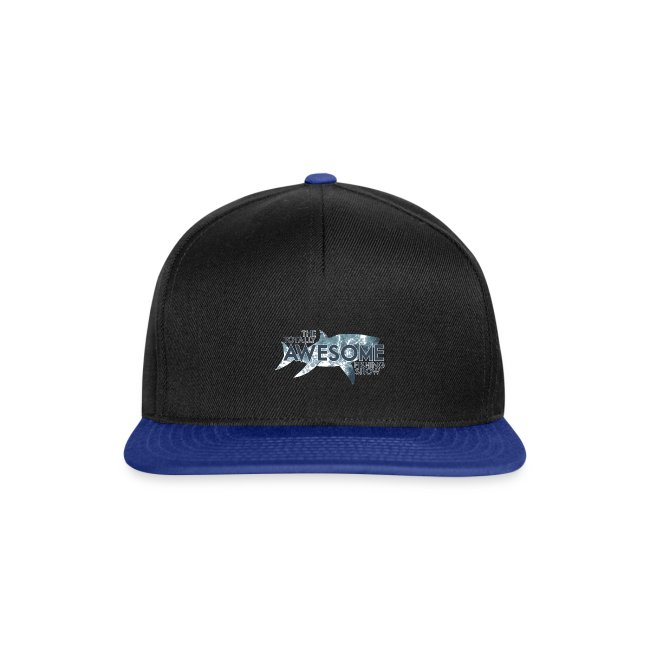 Hooked on Awesome Snapback Cap