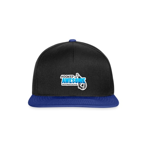 Hooked on Awesome Snapback Cap - Snapback Cap