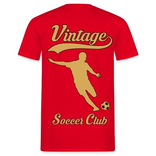vintage soccer club - Men's T-Shirt