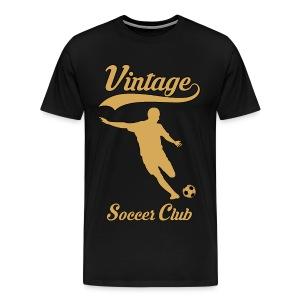 vintage soccer club - Men's Premium T-Shirt
