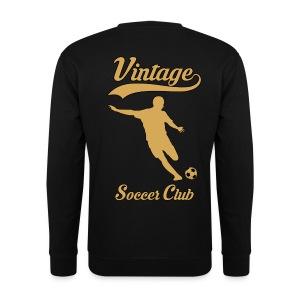 vintage soccer club - Men's Sweatshirt