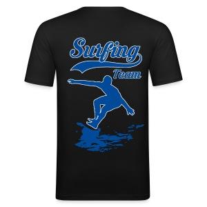Surfing Team 01 - Men's Slim Fit T-Shirt
