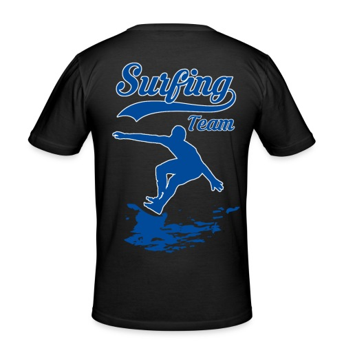Surfing Team 01 - Men's Slim Fit T-Shirt