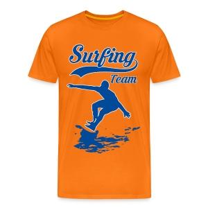 Surfing Team 01 - Men's Premium T-Shirt