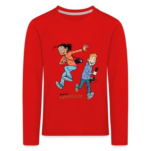 Kinder Premium Langarmshirt Jump - Kinder Premium Langarmshirt