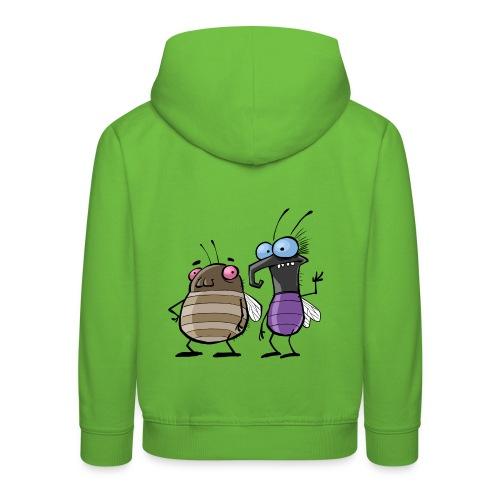 Kinder Kapuzenpullover Insekten - Kinder Premium Hoodie