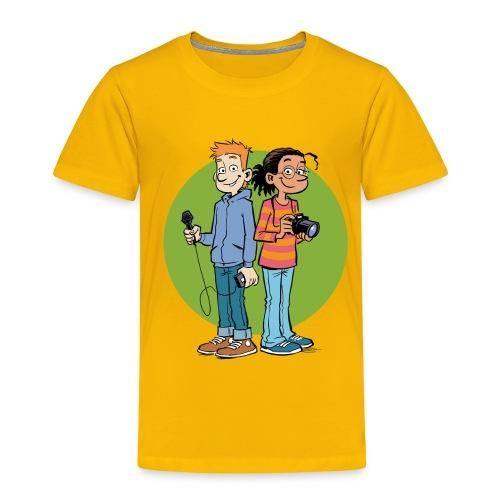 Kinder Premium T-Shirt Reporter - Kinder Premium T-Shirt