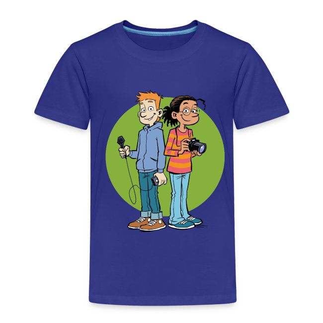 Kinder Premium T-Shirt Reporter