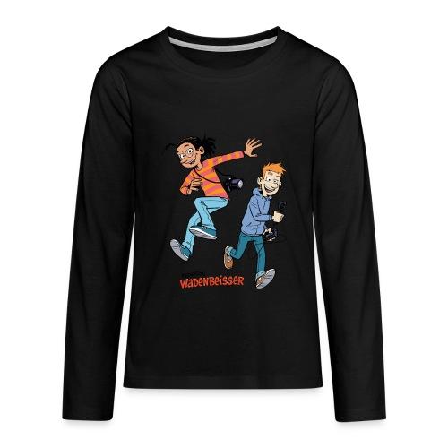 Teenager Premium Langarmshirt Jump - Teenager Premium Langarmshirt