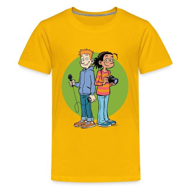 Teenager Premium T-Shirt Reporter
