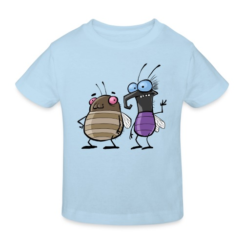 Kinder Bio T-Shirt Insekten - Kinder Bio-T-Shirt