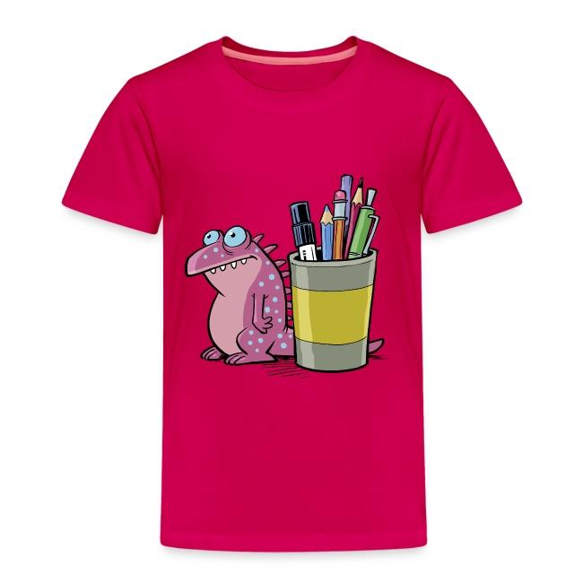 Kinder Premium T-Shirt Drache