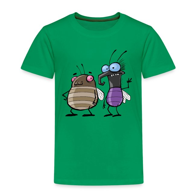Kinder Premium T-Shirt Insekten