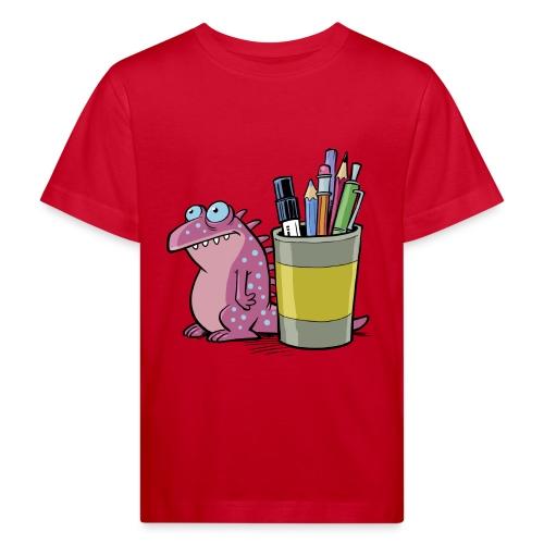 Kinder Bio T-Shirt Drache - Kinder Bio-T-Shirt
