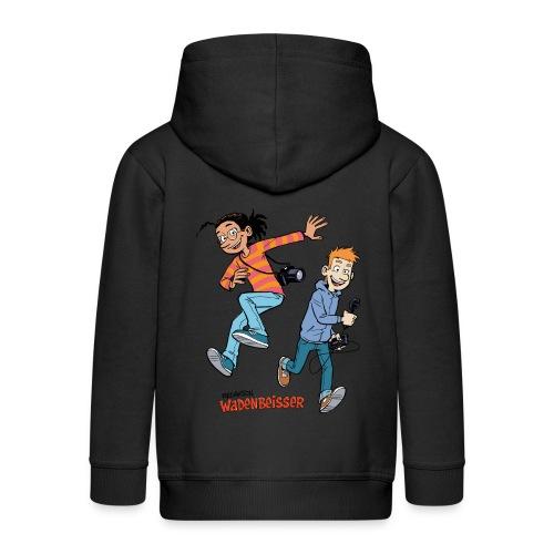 Kinder Kapuzenjacke Jump - Kinder Premium Kapuzenjacke