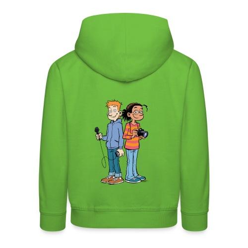 Kinder Kapuzenpullover Reporter - Kinder Premium Hoodie