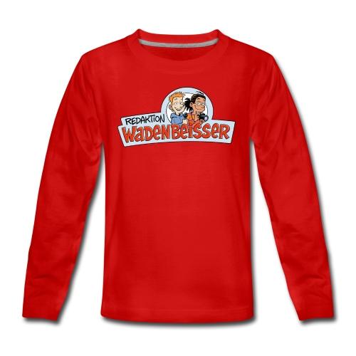 Teenager Premium Langarmshirt Logo - Teenager Premium Langarmshirt