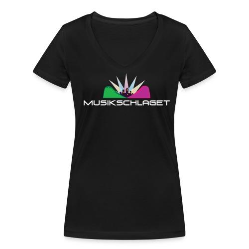 T-shirt dam v-ringad - Ekologisk T-shirt med V-ringning dam från Stanley & Stella