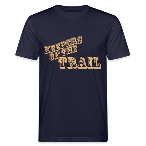 Keepers of the Trail T-Shirt - Männer Bio-T-Shirt
