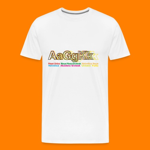 Grotesk tee shirt - Men's Premium T-Shirt