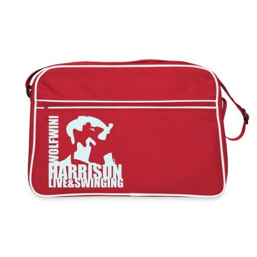 Reflective Harrison retro bag - Retro Bag